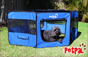 Petpal Playpen - Royal Blue small